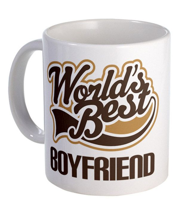 Look at this Brown 'World's Best BOYFRIEND' Mug on #zulily today!
