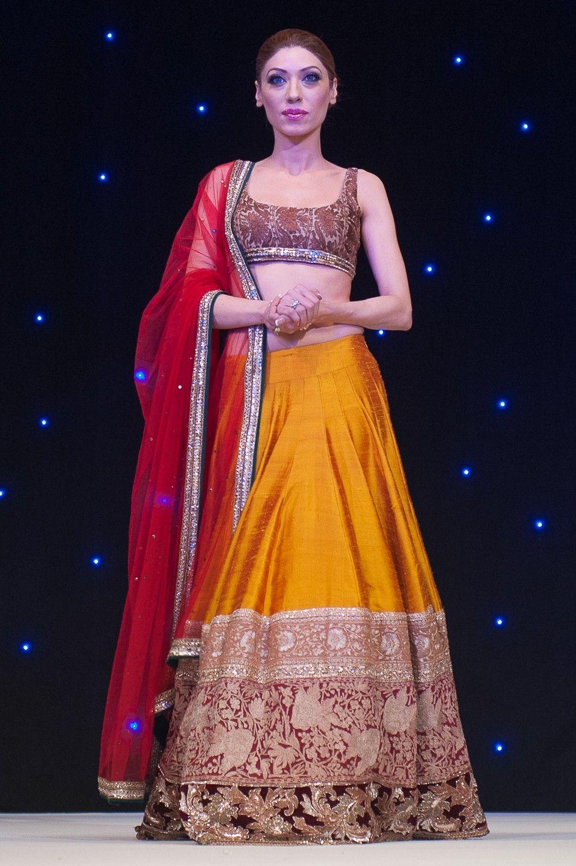 Manish malhotra gala fashion fundraiser catwalk asian wedding