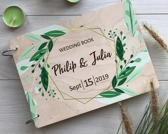 Photo albumGuestbook weddingGuest book alternativeWedding | Etsy
