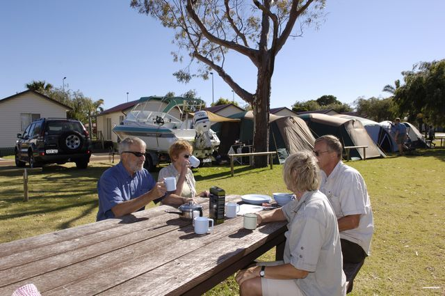 Campgrounds at Discovery Parks - Koombana Bay in WA