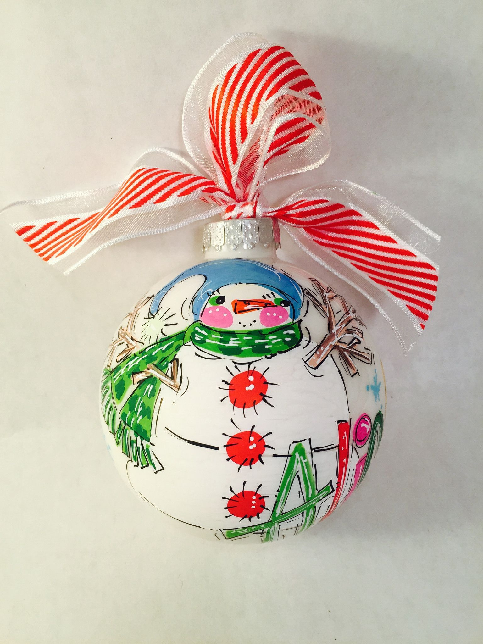Add A Little Jolly Snowman To Your Christmas Tree With