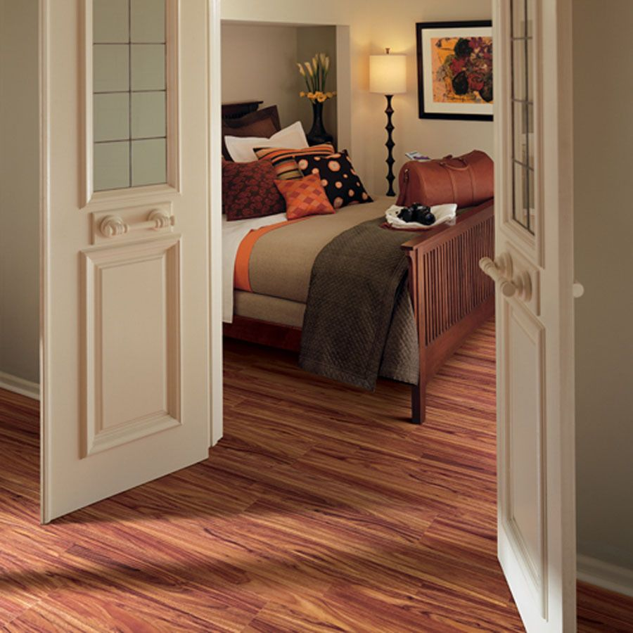 Pergo Max 7 61 In W X 3 96 Ft L Burnished Fruitwood Smooth Laminate Wood Planks At Lowes