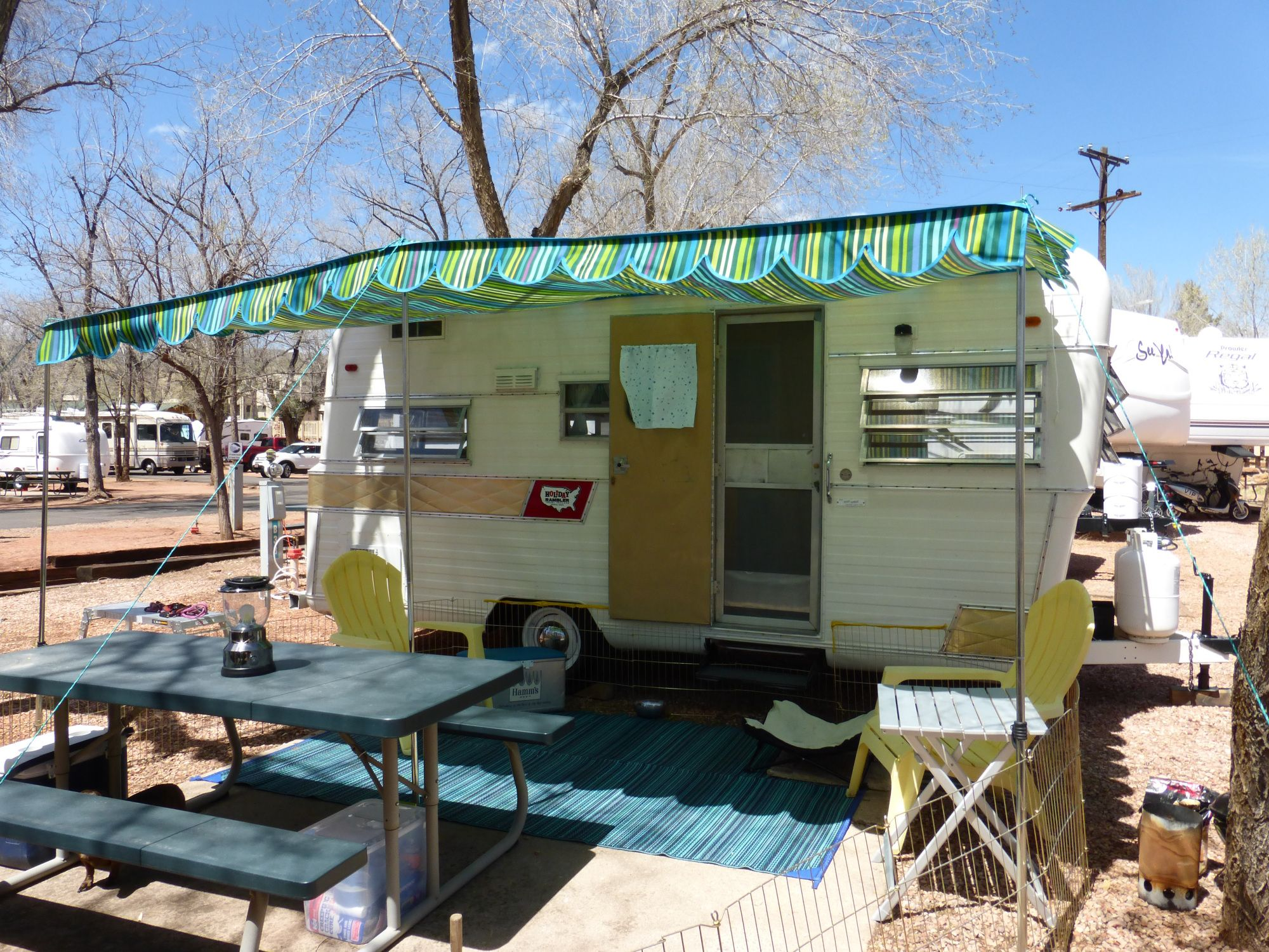 Holiday Rambler Awning Caravan Awnings Camper Awnings