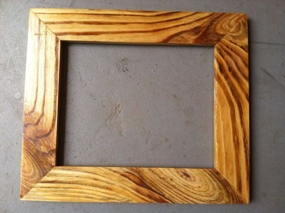 8x10 Handmade Wooden Frame Jones Framing Via Etsy Wooden Frames