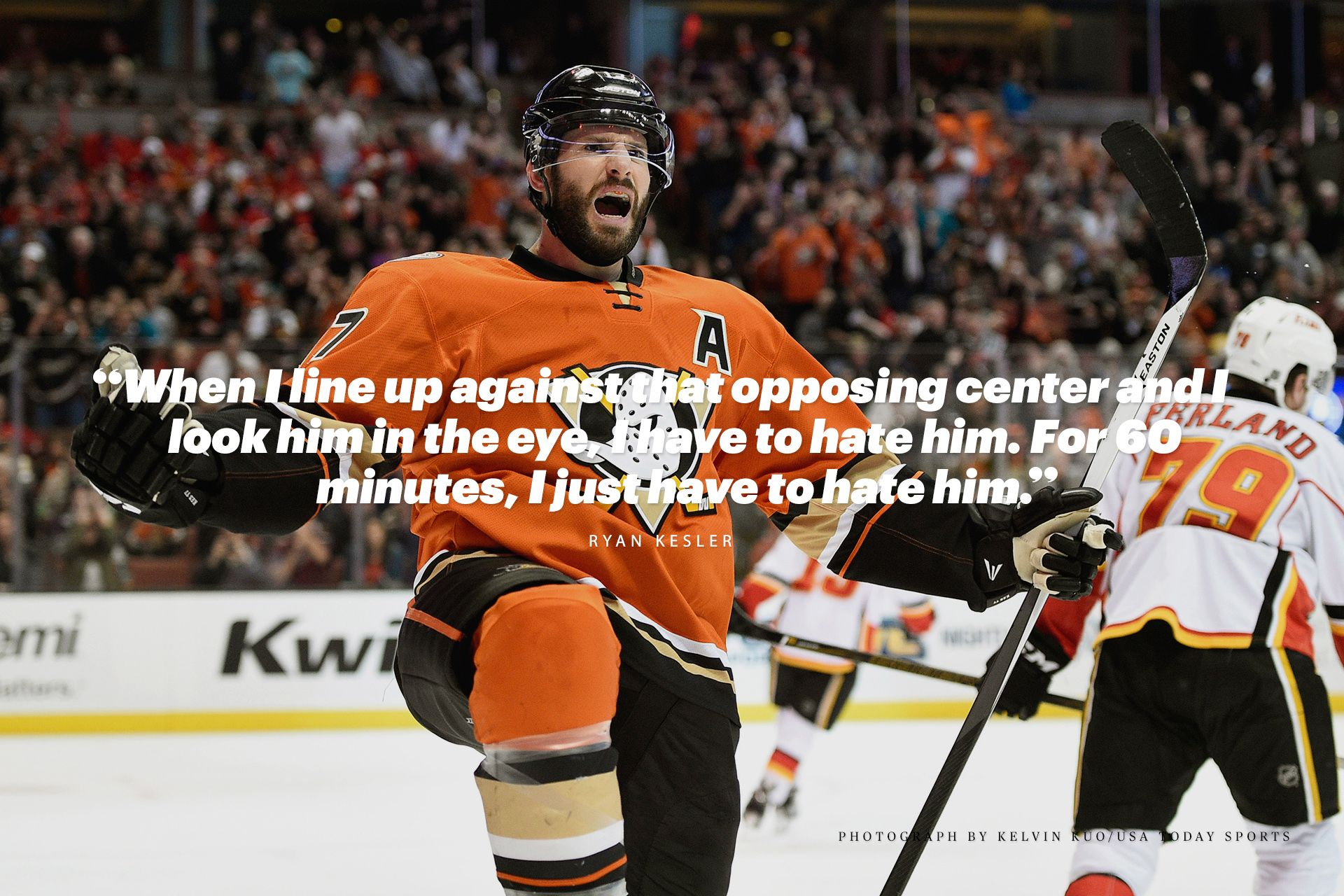 How We Play Hockey In America By Ryan Kesler