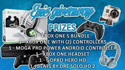 Win an Xbox One S GoPro Hero Beats by Dre SOLO or other prizes