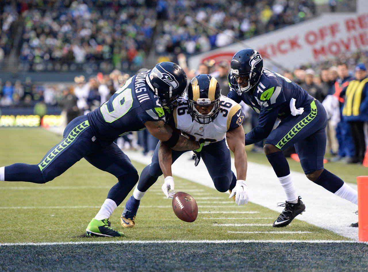 Photo Gallery Seahawks vs Rams Seahawks football