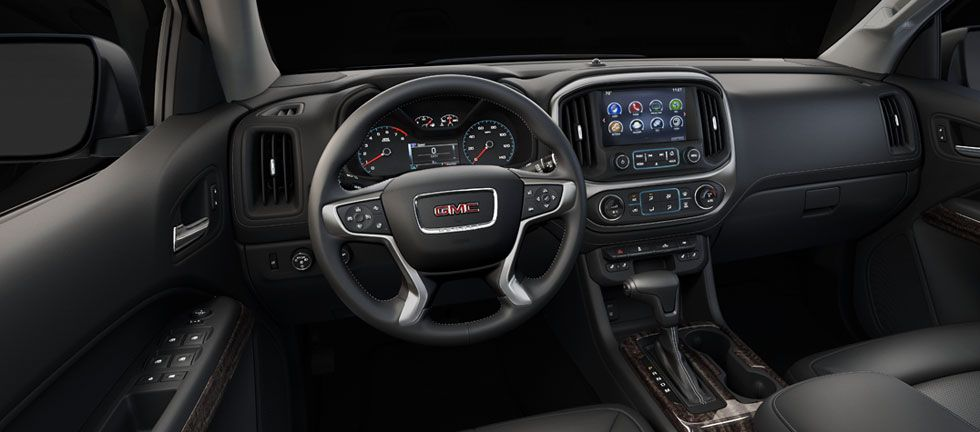 The GMC Canyon Denali Small Pickup Trucku0027s Luxurious Interior Features  Premium Materials And Great Attention To