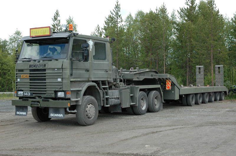 Scania die R 143 6x6 SZM Militär Pinterest