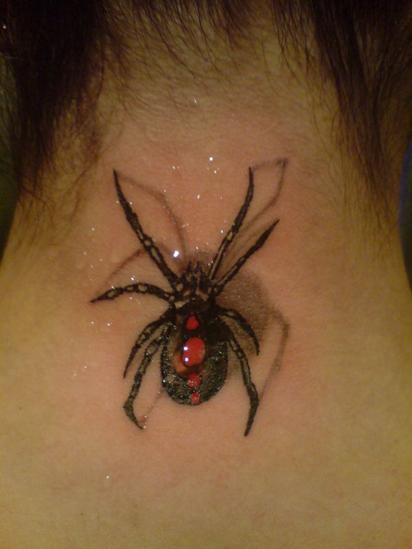 30 Awesome Spider Tattoo Designs Art And Design Spider Tattoo 3d Tattoo Spider Web Tattoo