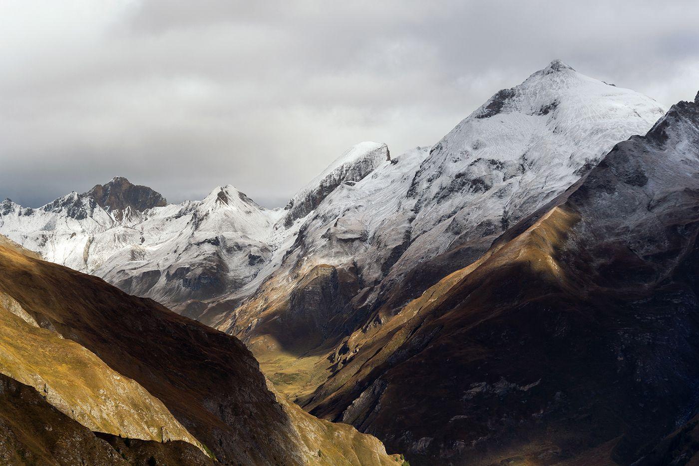 Dolomites Xii On Behance Landscape Pictures Landscape Grey Skies