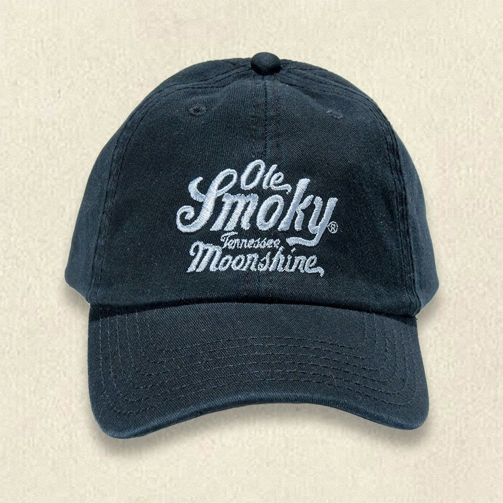 ceb0a454ef8 Ole Smoky Black Embroidered Hat  shop  Gatlinburg  Tennessee  hat  gift   idea