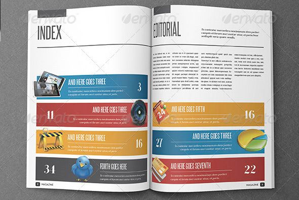 Idee Pour Afficher Les Differentes Pages Indesign Magazine