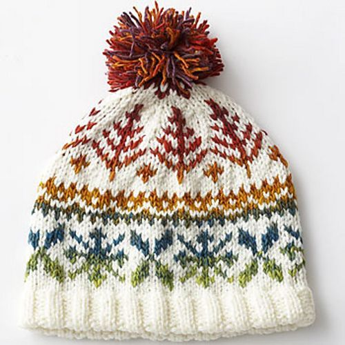 Ravelry: Fair Isle Hat #6209 pattern by Bernat Design Studio. Good ...