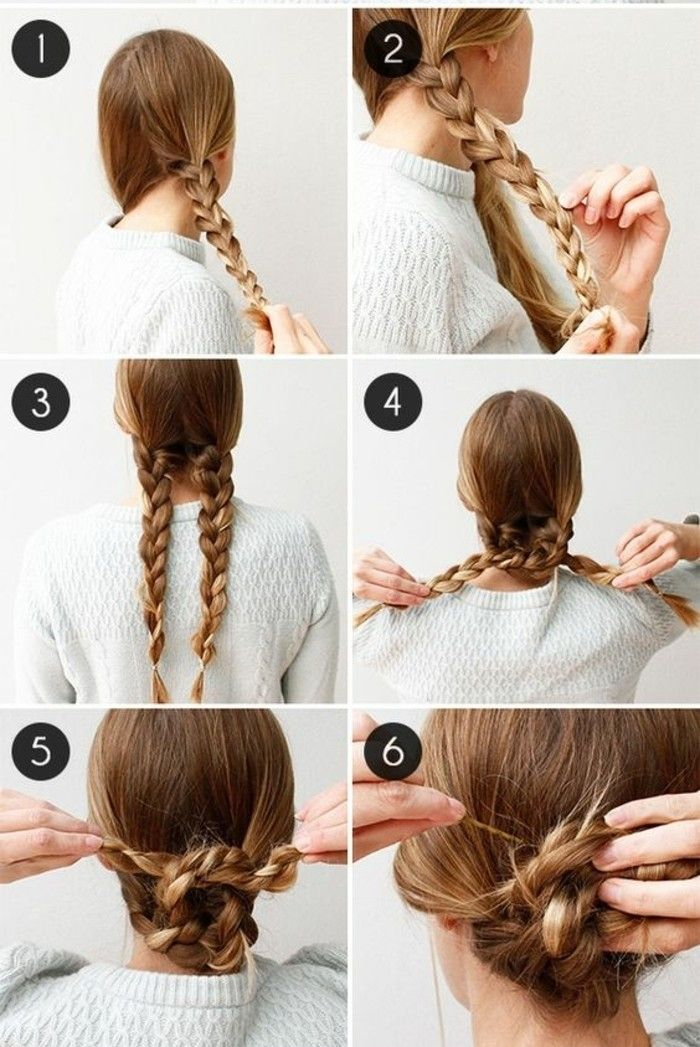 60 idées coiffures et chignons bas faciles à faire en 10