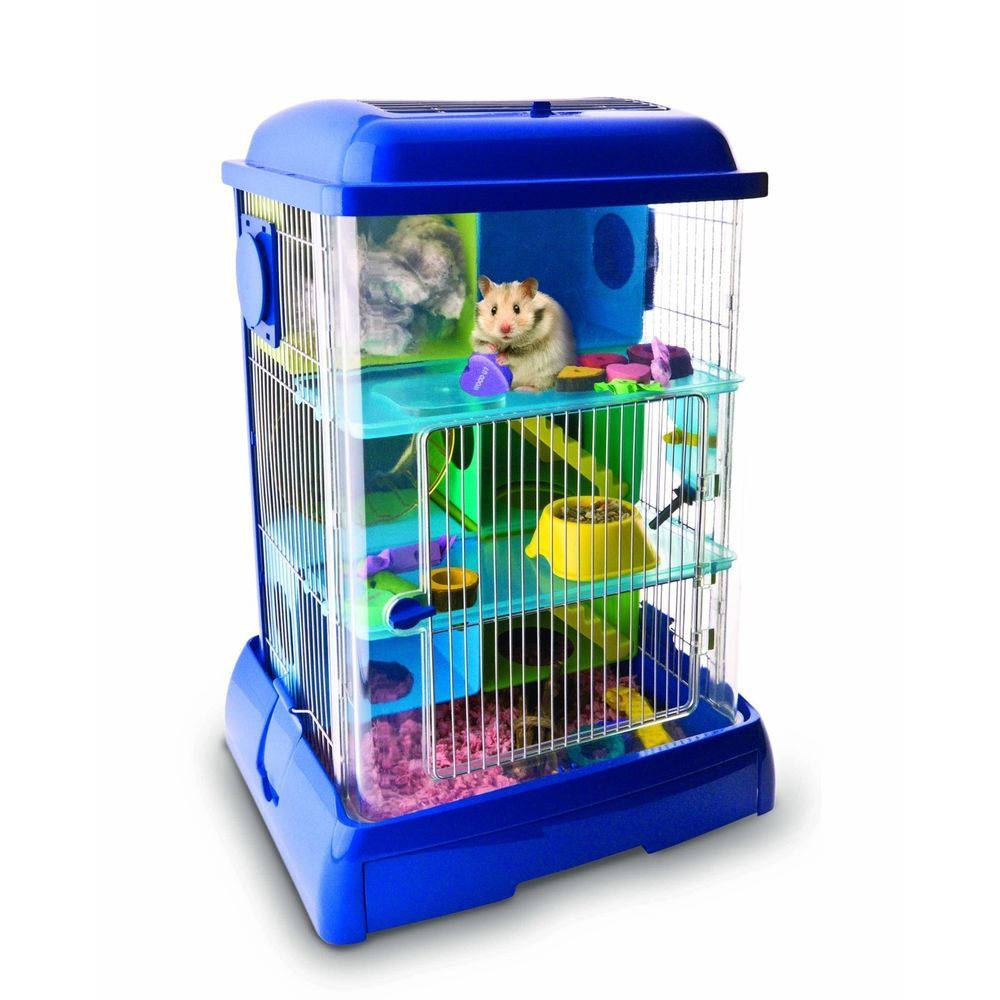 Hamster Tower Small Pet Animal Cage Gerbil Mice Dwarf Habitat Home Accessories Small Pets Pet Cage Pet Supplies