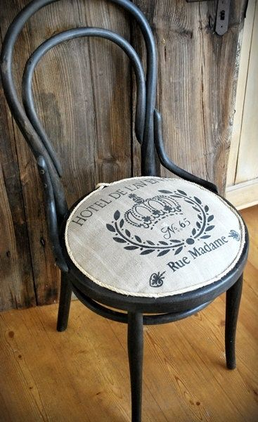 Vintage French Stencils | ... with antique linen and French stencil burlap. €138.00, via Etsy
