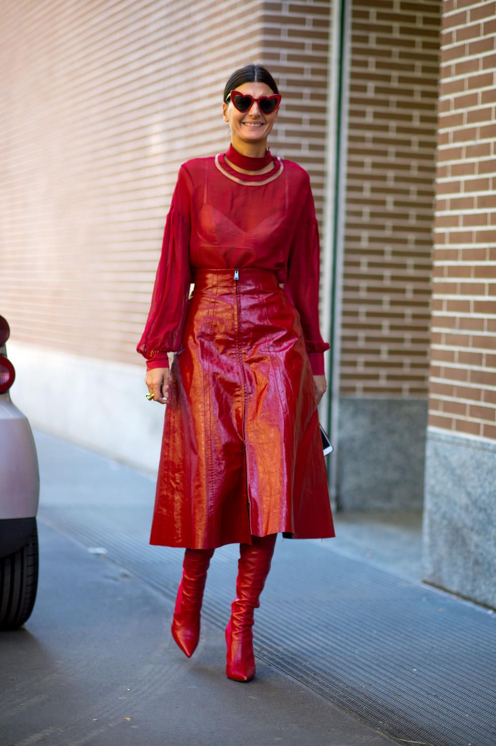 Every season Milan delivers, but this Milan Fashion Week street style spring 2018 set is on another level. Head-to-toe Gucci? Check.