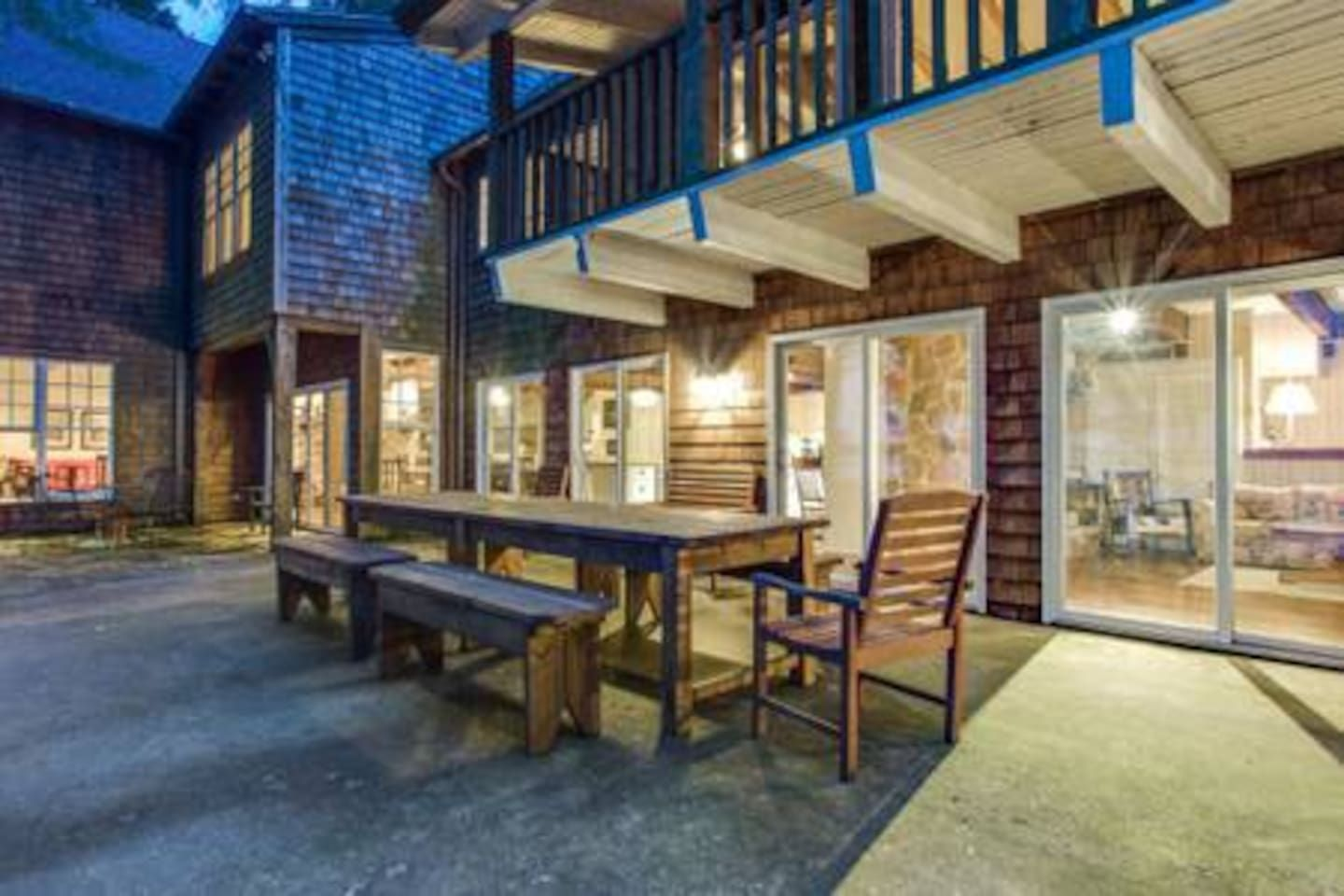 Rustic Charm on Cedar Creek Lake - Cabins for Rent in ...