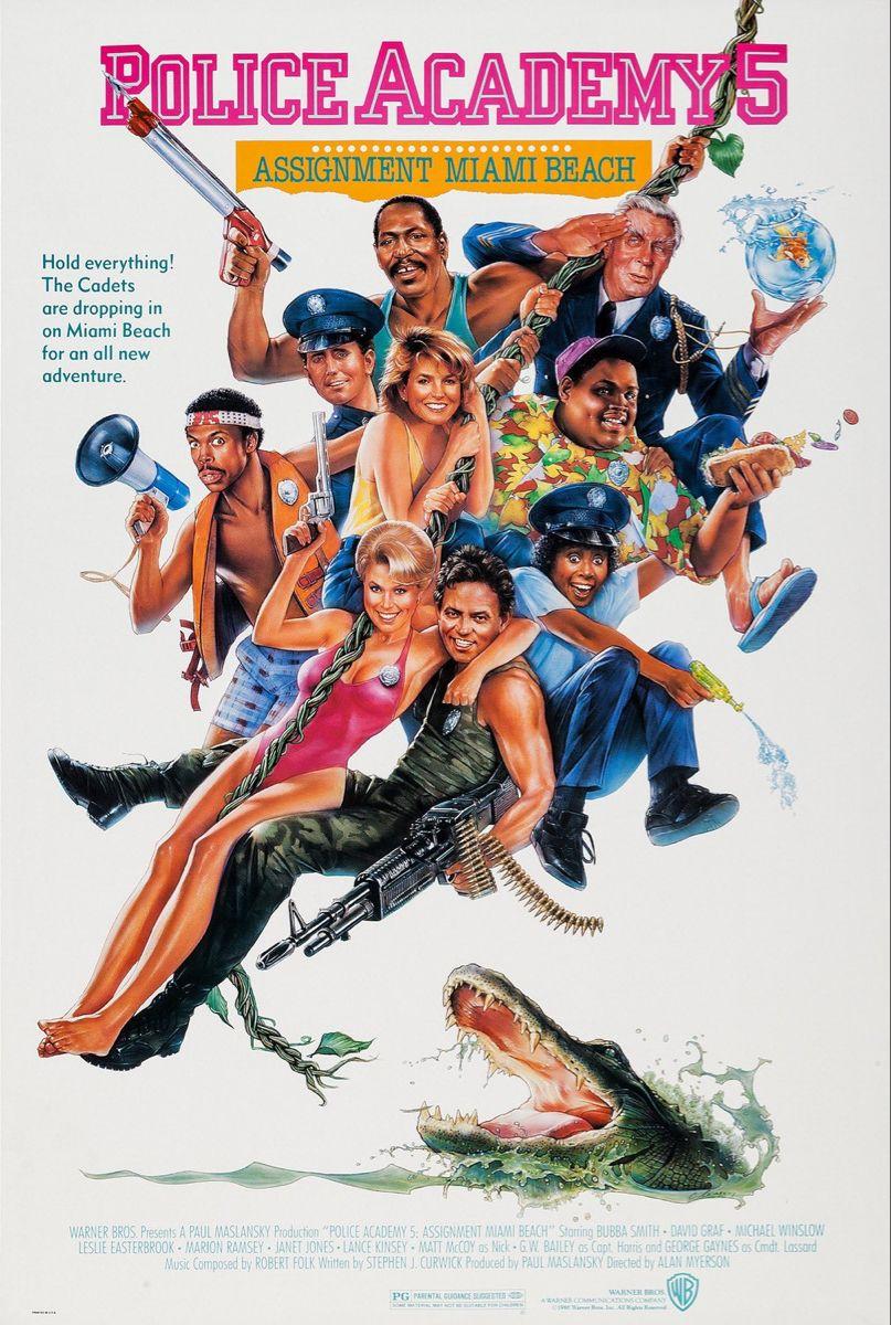 Police Academy 5 In 2020 Police Academy Police Academy Movie Police