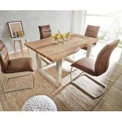Reduced Solid Wood Dining Tables Delife Tree Table Live Edge 140