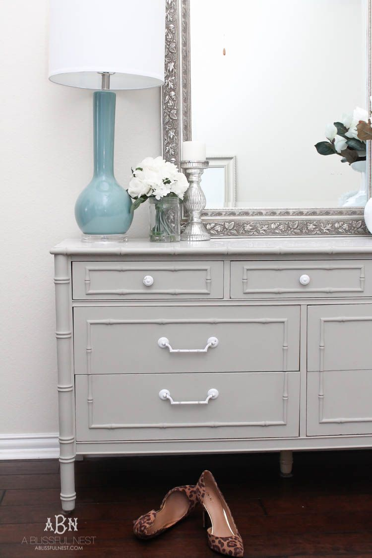 follow this simple tutorial on how to use chalk furniture paint to makeover a