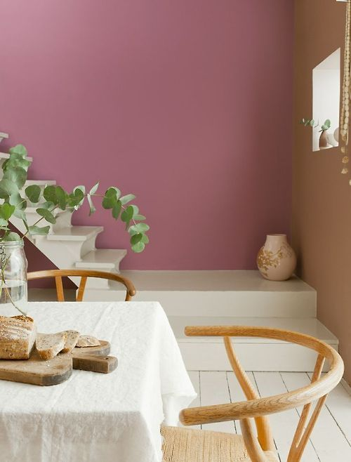 blush pink paint or is it mauve in the pink dulux. Black Bedroom Furniture Sets. Home Design Ideas