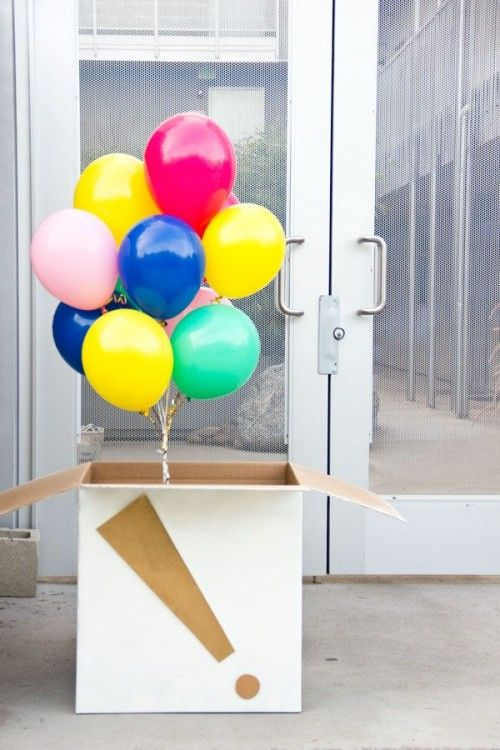Send Balloons In A Box For Your Next Far Away Birthday Gift