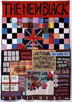 Tracey Emin, The New Black, 2002. Appliqué blanket. | Art ... : tracey emin quilts - Adamdwight.com