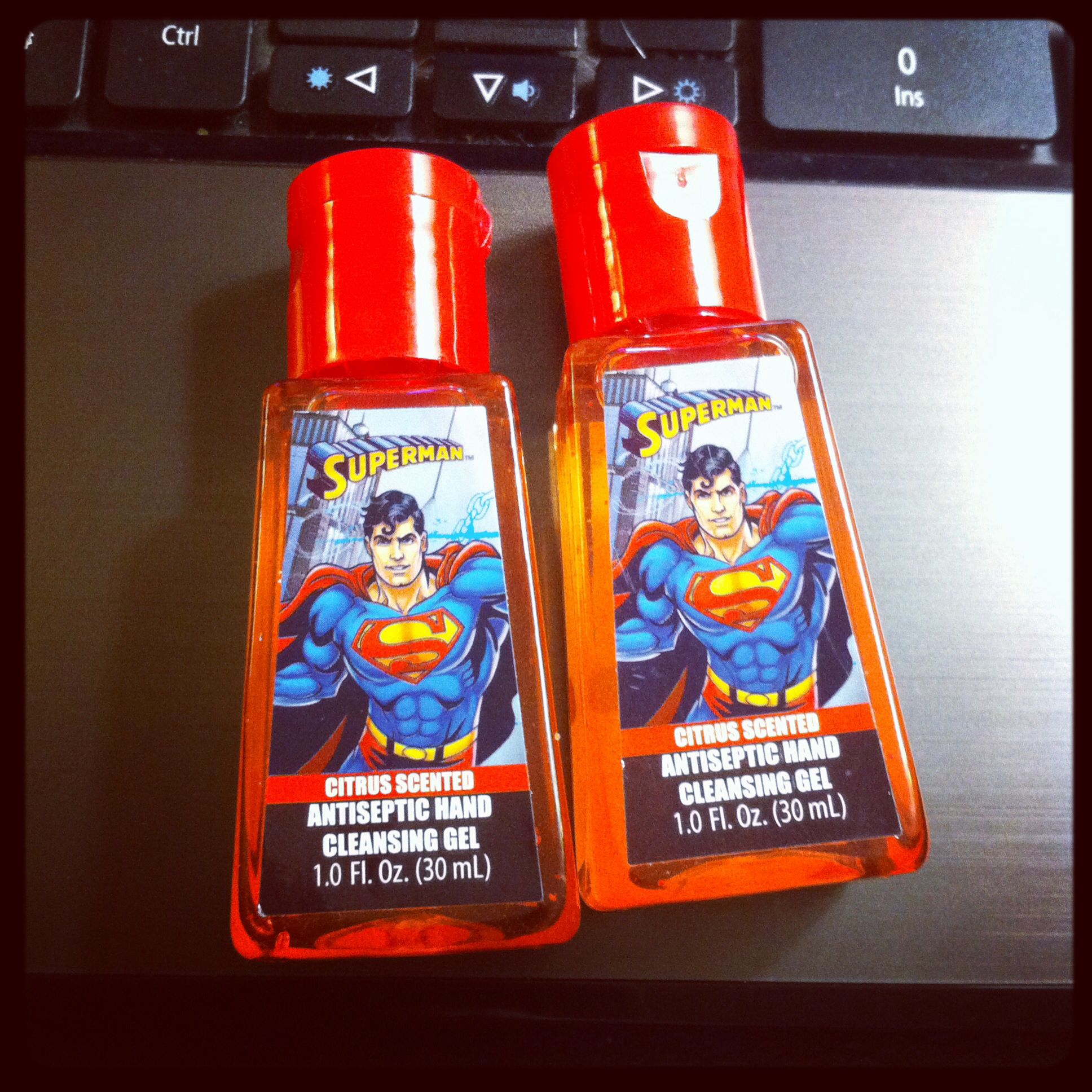Superman Hand Sanitizer Hand Sanitizer Cleansing Gel Hands