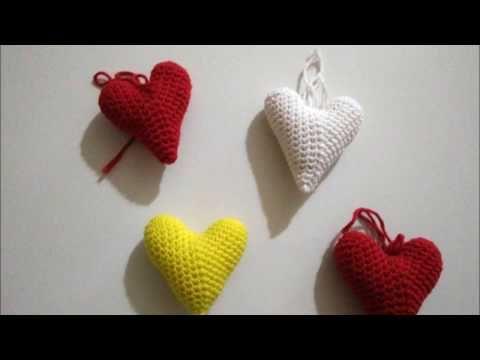 Amigurumi Anahtarlık Yapımı : Kalpli anahtarlık yapımı kendin yap diy youtube ganchillo