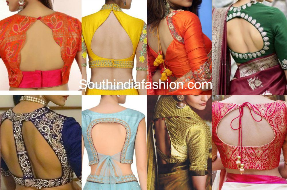 100 Blouse Designs Best Stunning Latest Saree Blouse Neck Designs Blouse Designs Indian Blouse Neck Designs Saree Blouse Designs Latest