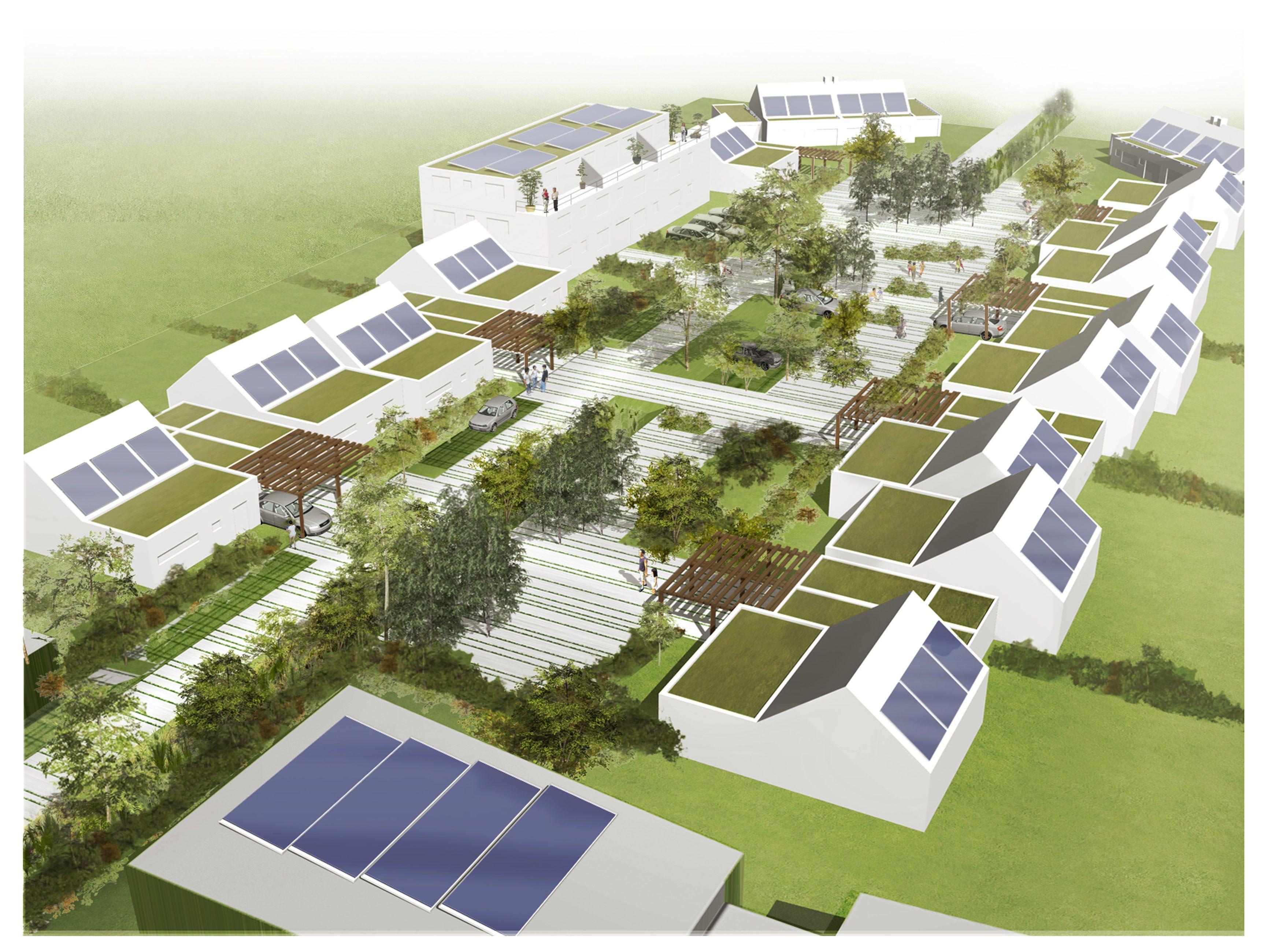 Granville conception de l co quartier de la cl menti re for Agence empreinte paysage