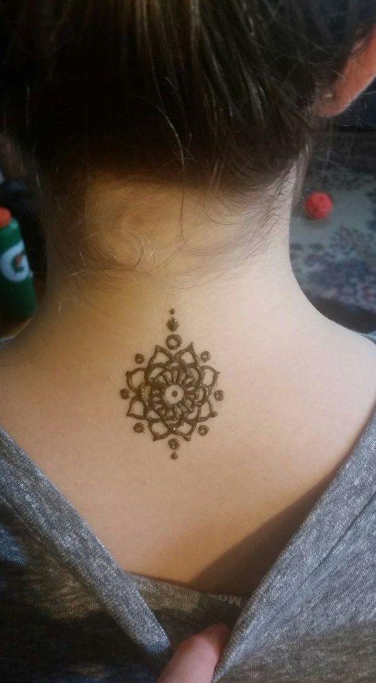 hennatattoo #tattoo back to side tattoo, unique forearm tattoos ...