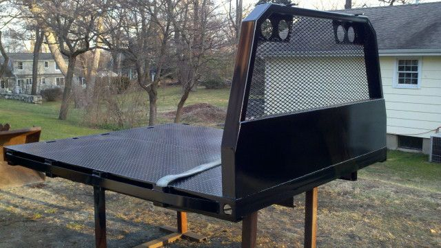 Enclosed Bed Google Search: Homemade Flatbed Truck - Google Search