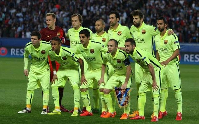 El once inicial del Barça frente al PSG en la ida de los cuartos de ...