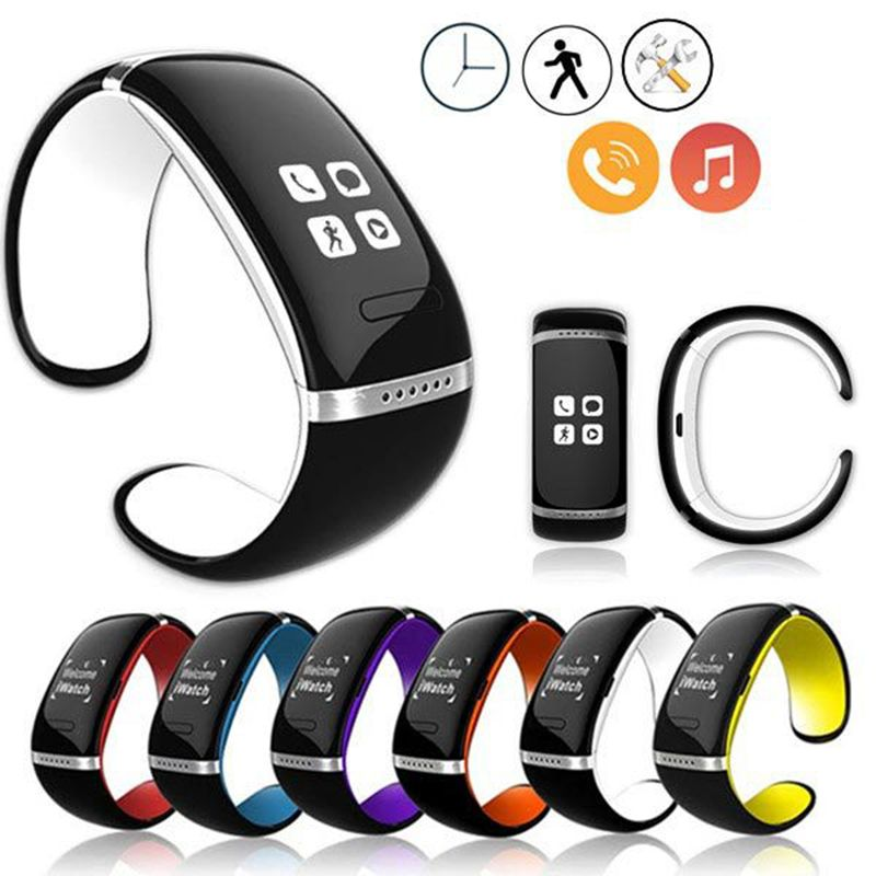 Bluetooth Wrist Smart Bracelet Watch Phone For Ios Android Smartphone Smart Bracelet Smart Wearable Devices Apple Accessories
