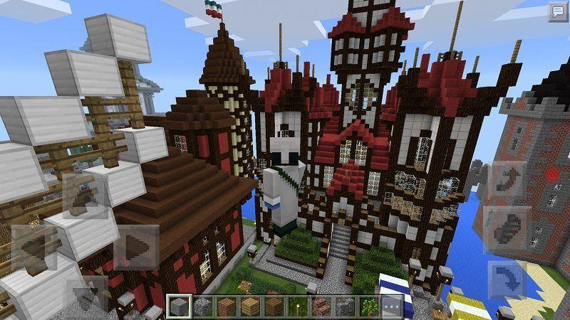 Minecraft Castle Seed Pe Minecraft Pe Seeds Mcpe Box Minecraft Castle Seed Minecraft Castle Minecraft Seeds Pocket Edition