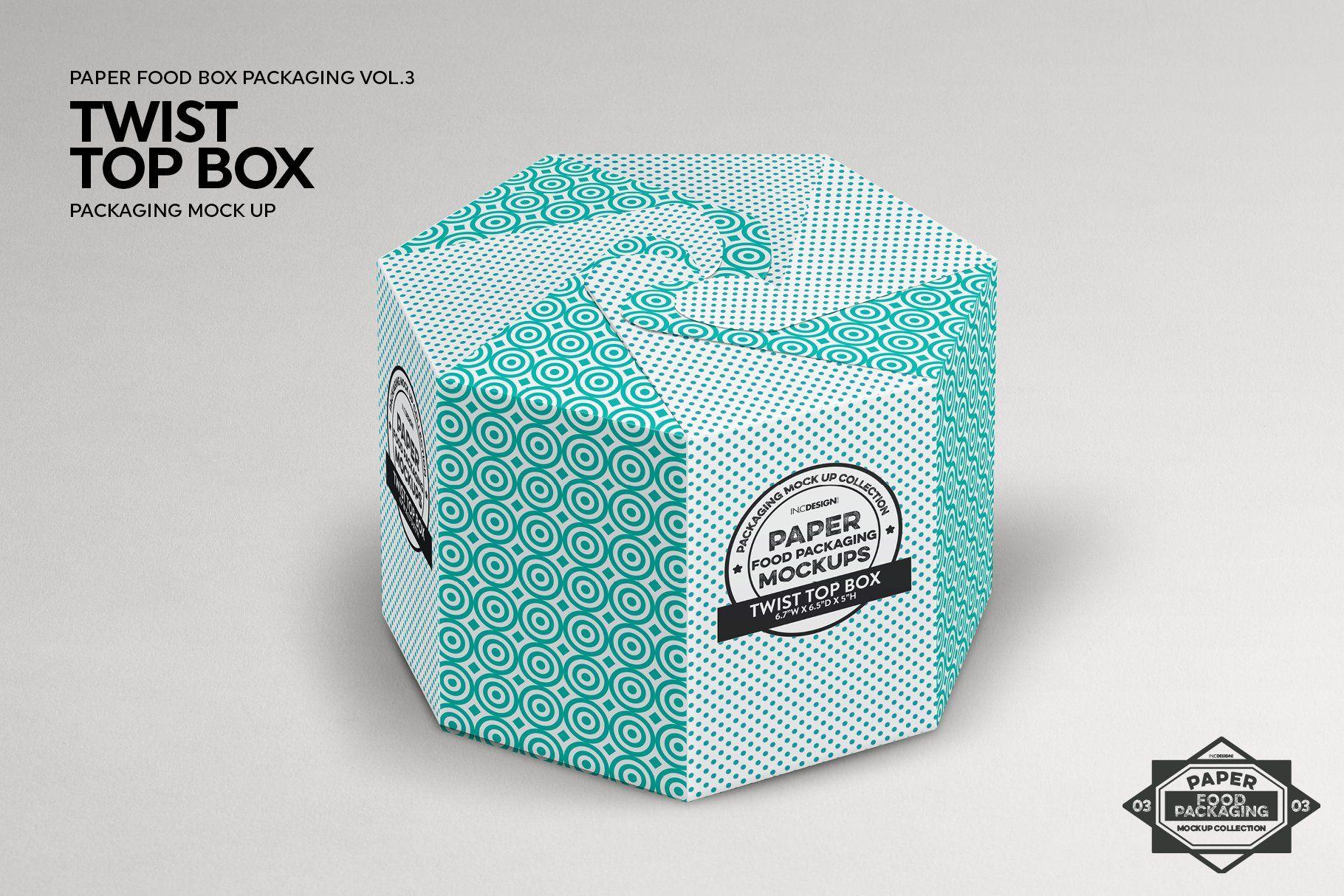 Download Twist Top Box Packaging Mockup Packaging Mockup Free Packaging Mockup Food Box Packaging