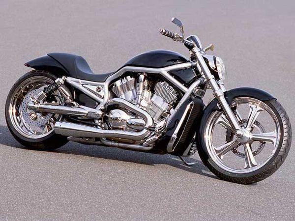 A Bodybuilder Creates A Customized Harley-Davidson V-Rod