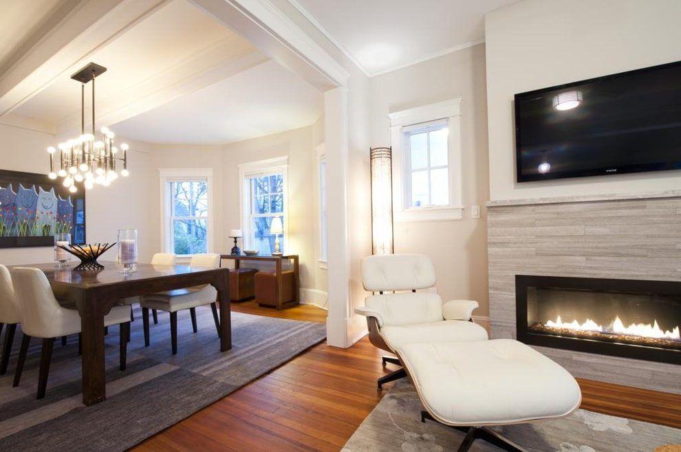 Best New York Benjamin Moore Navajo White Family Room 640 x 480