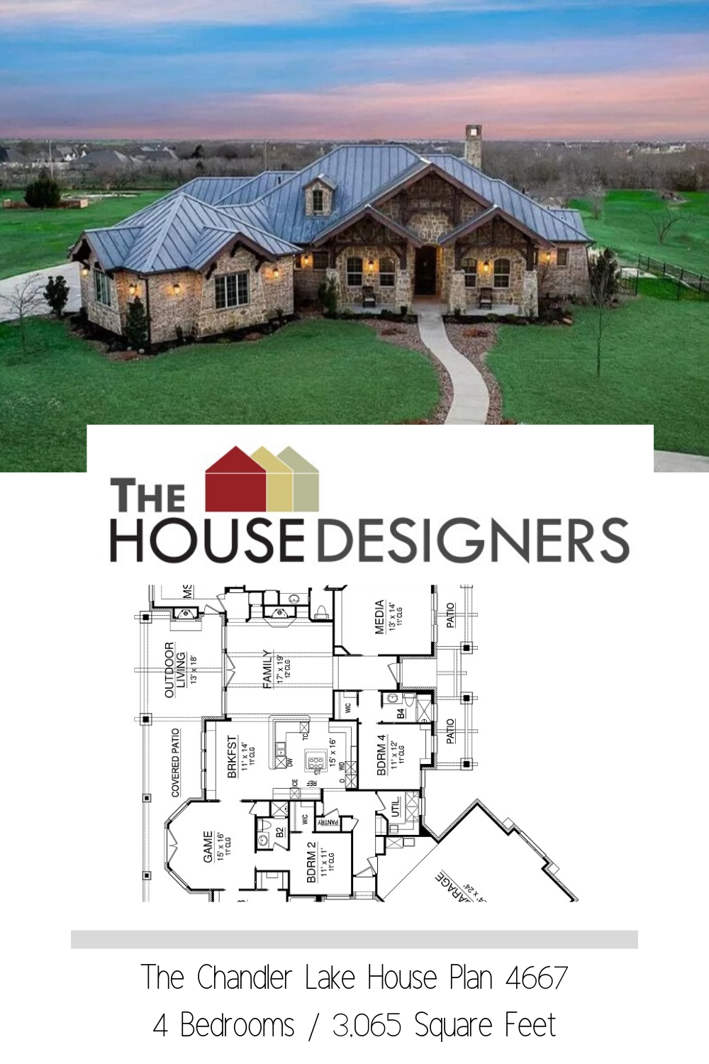 Beautiful Craftsman Style House Plan 4667 Chandlers Lake Lake House Plans Craftsman Style House Plans House Plans