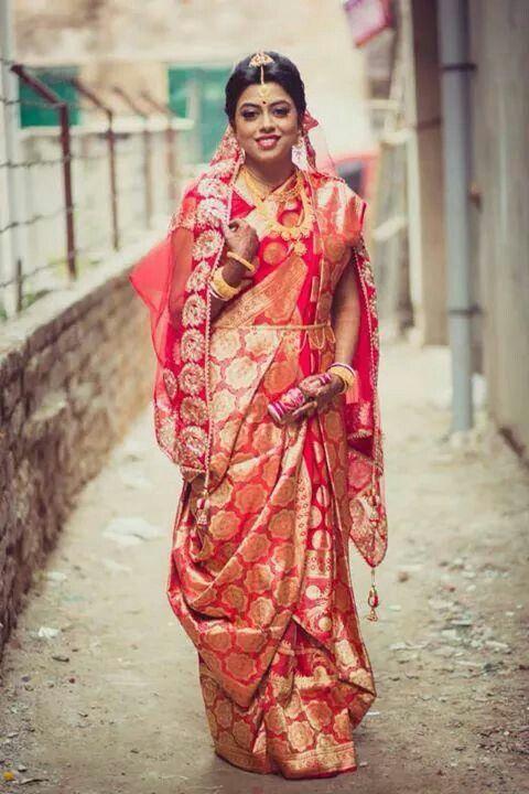 Beautiful Bengali Bridal Look Looks Wedding Bride