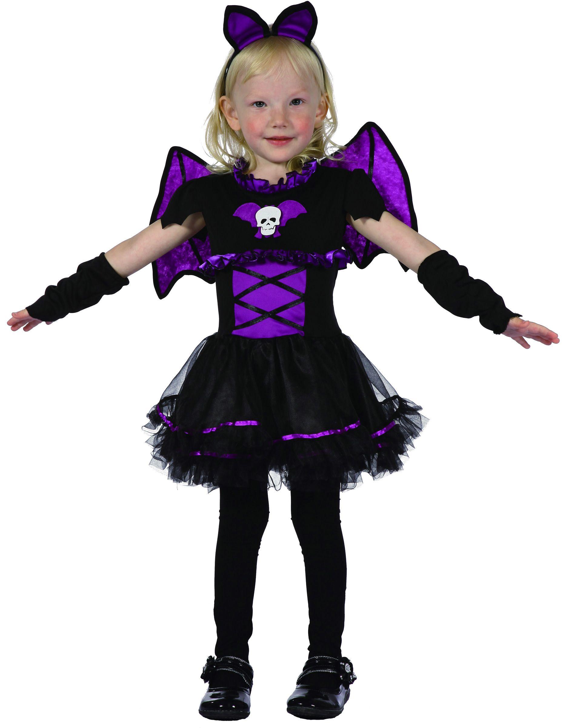 d guisement chauve souris violette fille deguise toi achat de d guisements enfants. Black Bedroom Furniture Sets. Home Design Ideas