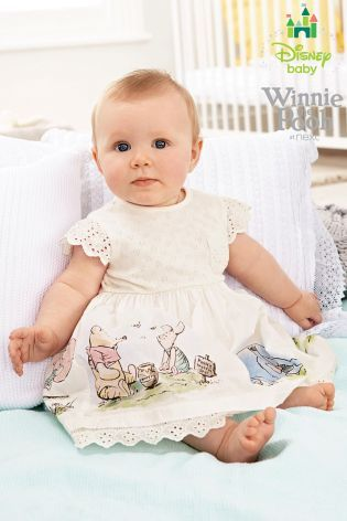a1b52b94c0af Buy Winnie The Pooh Dress (0-18mths) from the Next UK online shop ...