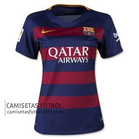 De Camisetas 2016 Camiseta Primera Barcelona Futbol Mujer 2015 5xqB88vnf