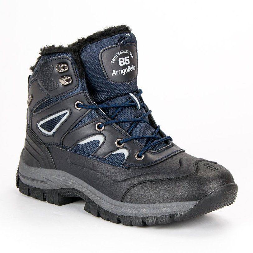 Trekkingowe Meskie Arrigobello Arrigo Bello Granatowe Meskie Obuwie Na Zime Hiking Boots Boots Shoes