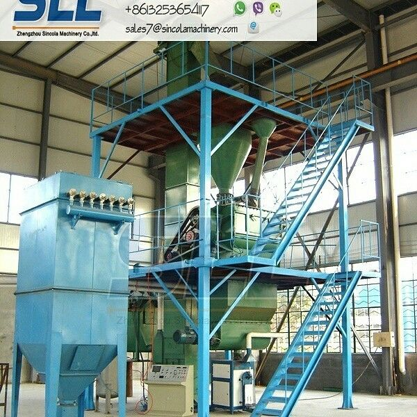 semi-automatic dry mortar mixing plant