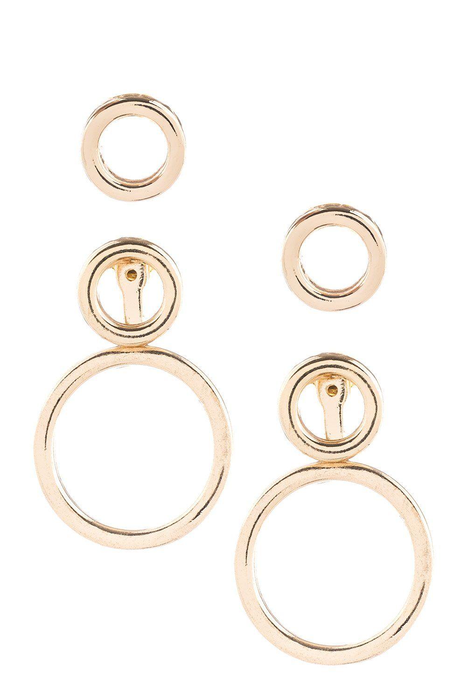 9bfa53b4c912b Type 1 Three's Company Earring Set | Products | Earrings, Earring ...