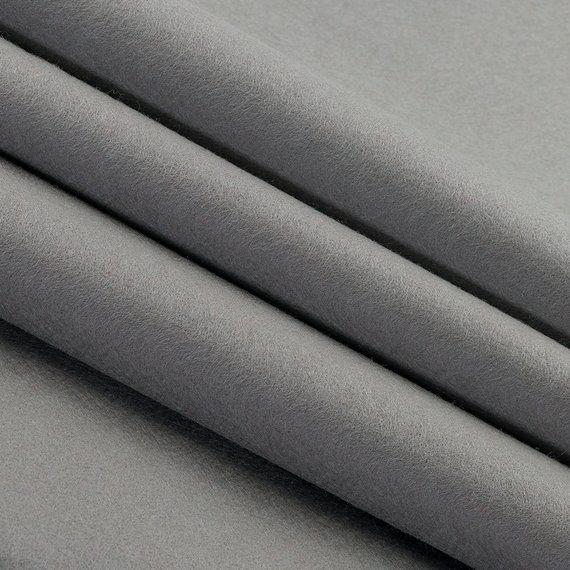 100 Wool Felt By The Yard Oxford Gray 72 Wide X 1 Yd X 1 2